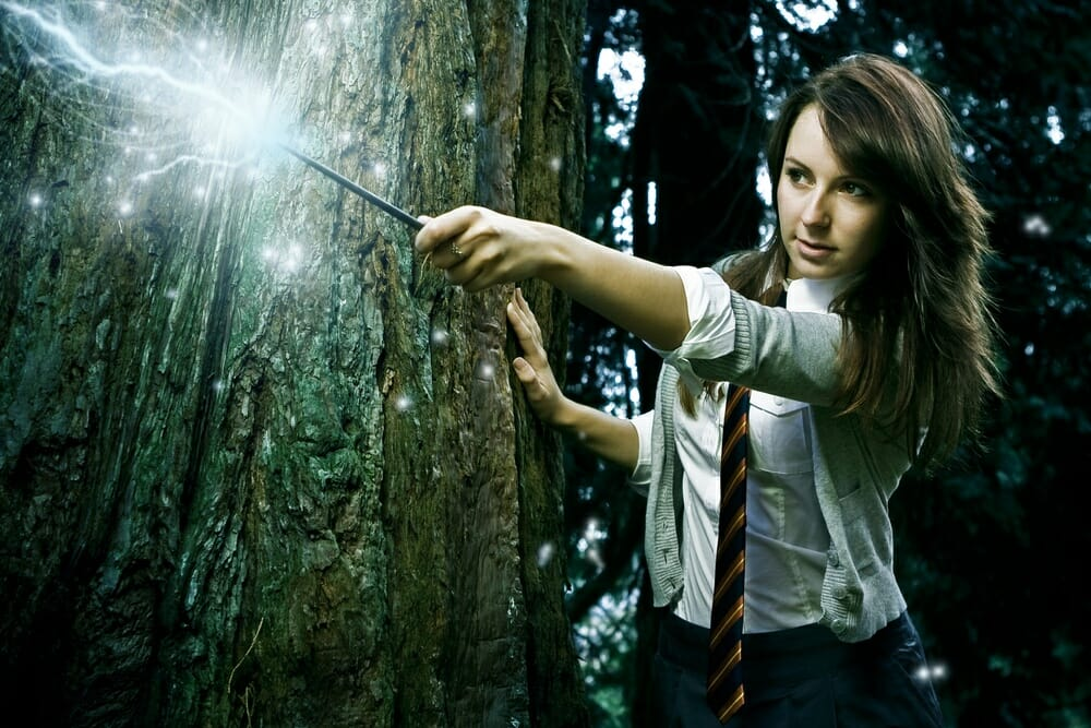 harry potter hermione school girl wizard